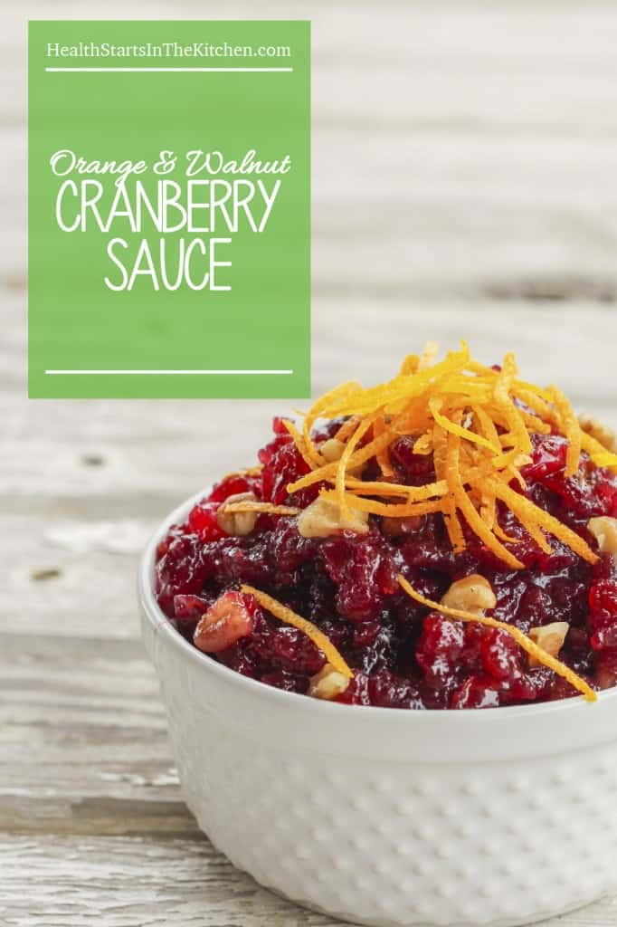So easy and Delicious, Cranberry, Orange & Walnut Sauce. Perfect for pairing with your Thanksgiving Turkey