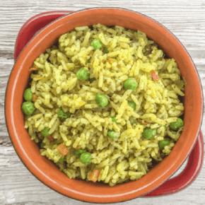 Fool-Proof Pressure Cooker Rice Pilaf - www.HealthStartsinthekitchen.com