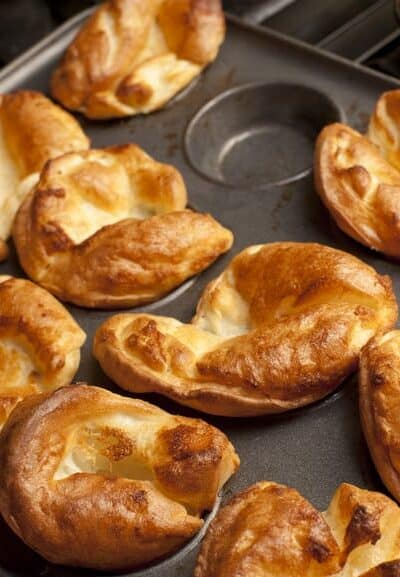 Grain Free Yorkshire Pudding - Paleo & Vegetarian Friendly - www.HealthStartsinthekitchen.com