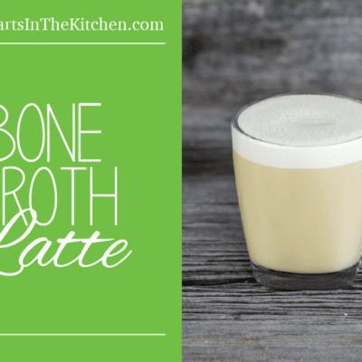 Bone Broth Latte, Breakfast in a mug!
