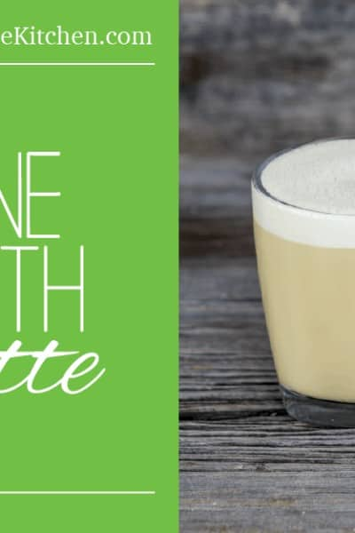 Bone Broth Latte - The most delicious and nutritious way to start your day!