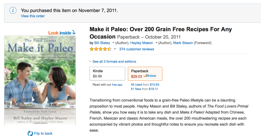 Make it paleo by Bill Staley & Hayley Mason
