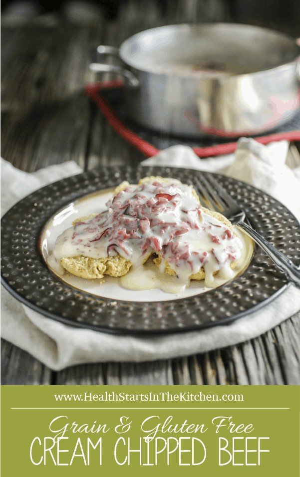 Cream Chipped Beef {Grain & Gluten-Free, Primal & Real Food}