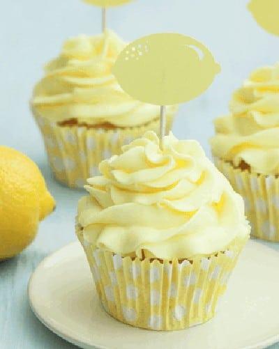 Luscious Lemon Cupcakes from Make it Paleo II