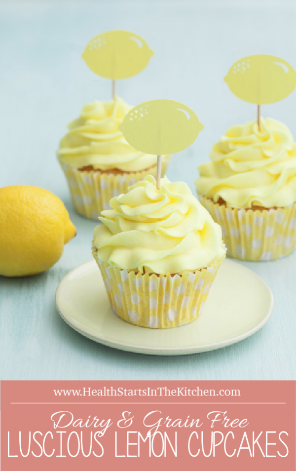 Luscious Lemon Cupcakes from Make it Paleo II