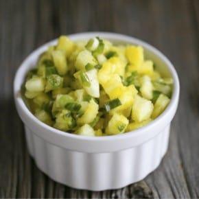 Fermented Pineapple Salsa