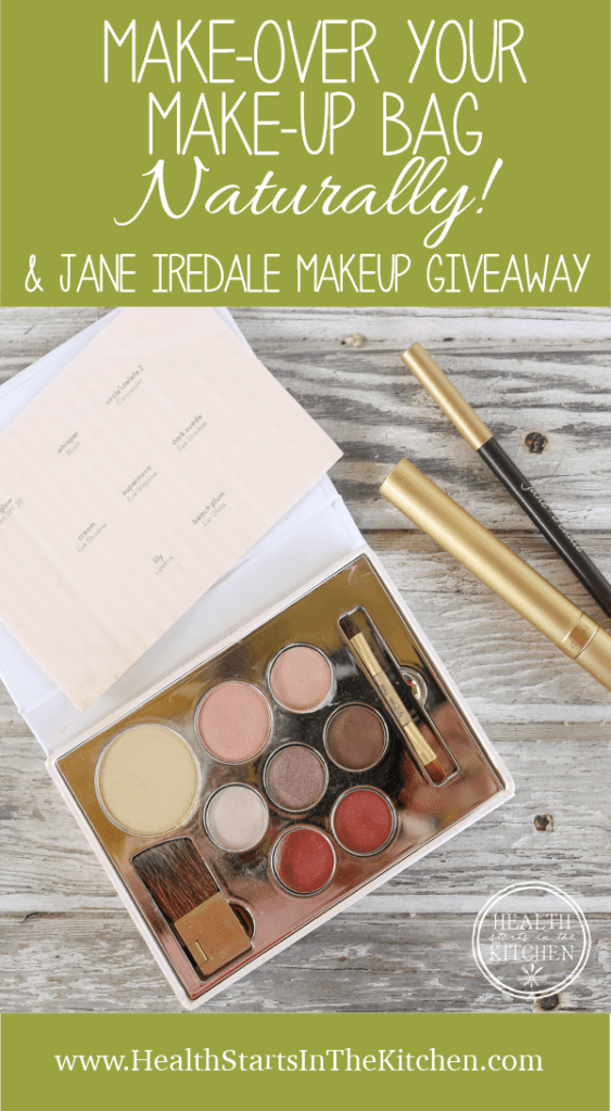 Make-Over your Make-Up Bag, Naturally + Jane Iredale Giveaway