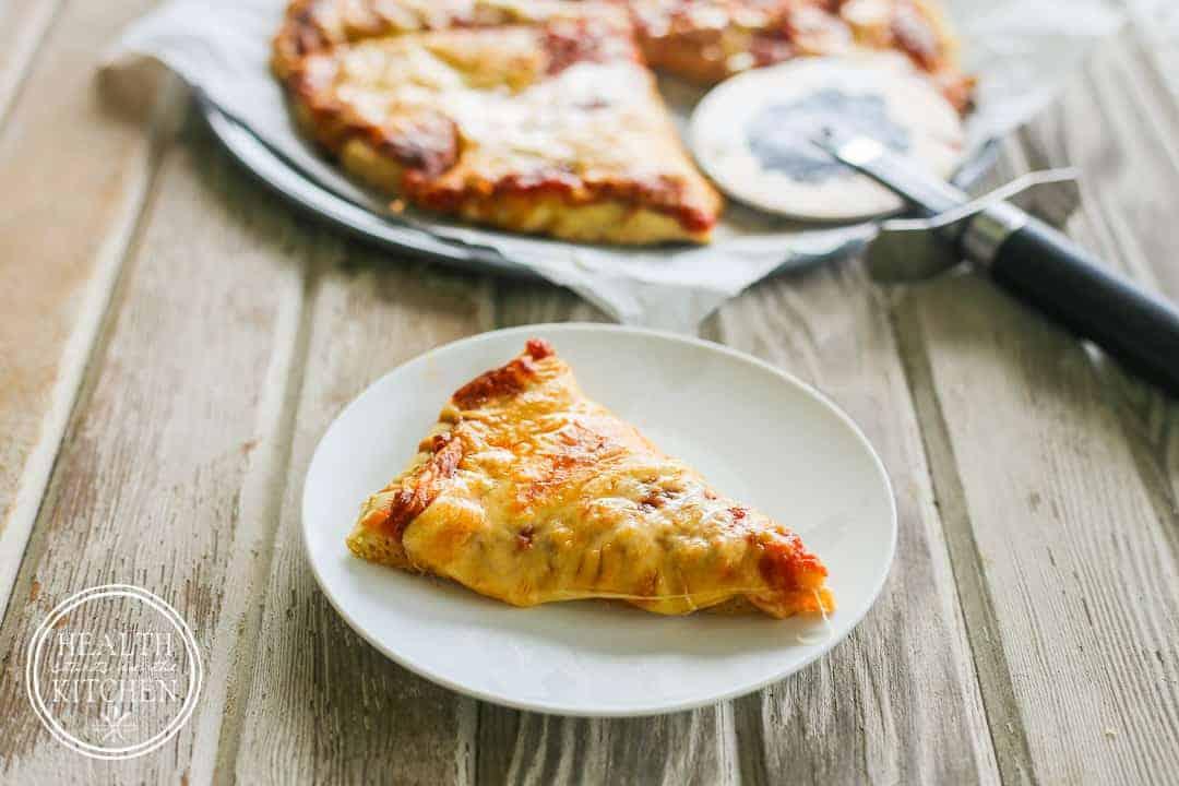 Gluten-Free Pizza Crust made with the World's Best Gluten-Free Dough