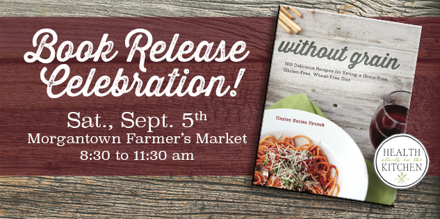 Without grain book release celebration feature image