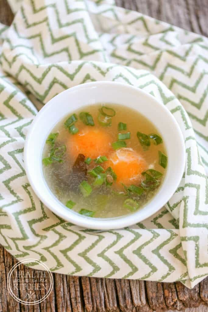 Delicious Egg Yolk Soup (Low-Carb, Paleo, WAPF}