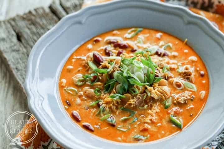 {Pressure Cooker} Hatch Pepper Chicken Chili