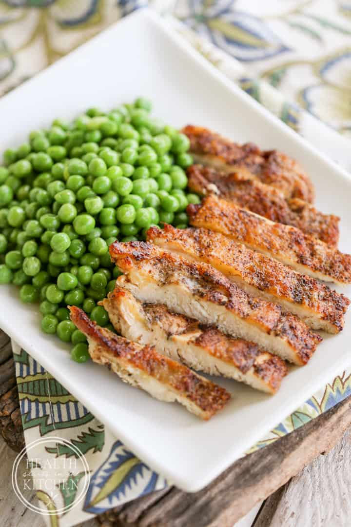 Delicious Crispy Chicken Breasts {Paleo, Low-Carb & Grain/Gluten-Free}