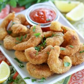 Grain-Free Breaded Shrimp {Made with Tiger Nut Flour}