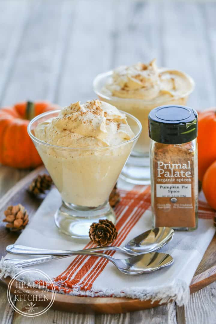 Pumpkin Cheesecake Fluff {Primal & Low-Carb}