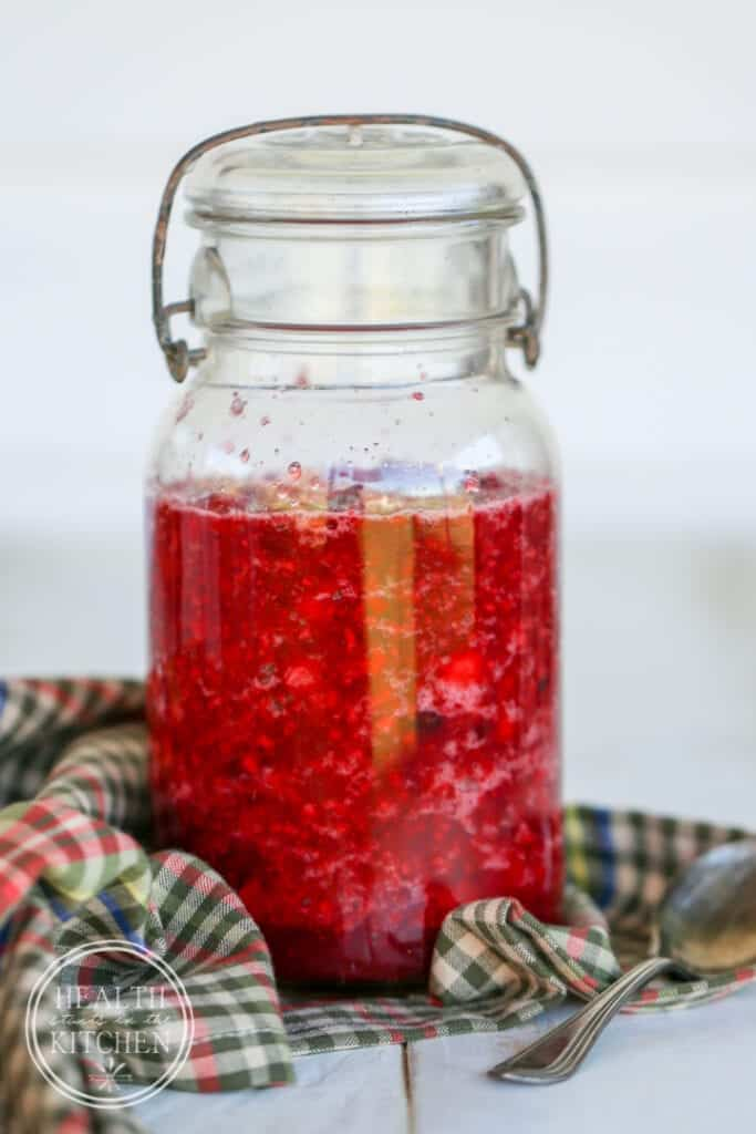 Fermented Cranberry Orange Relish {Health Starts in the Kitchen}
