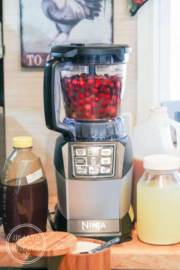 Fermented Cranberry Orange Relish {Health Starts in the Kitchen}