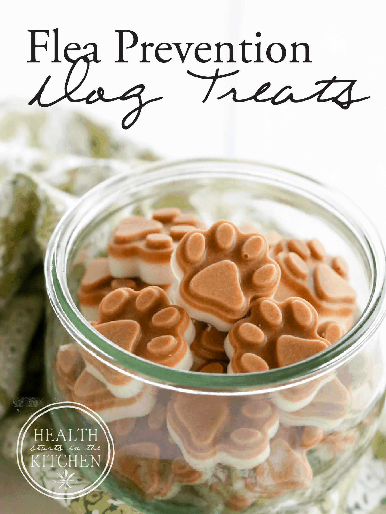 Homemade Flea Prevention Dog Treats {2