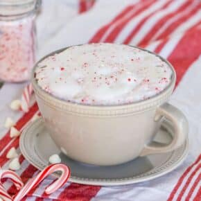 Peppermint White Chocolate Mocha & Ninja Coffee Bar Review
