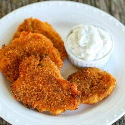 Baked Chicken Dippers and Ranch {Low-Carb & Primal}