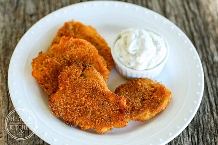 Baked Chicken Dippers with Ranch {Low-Carb & Primal}