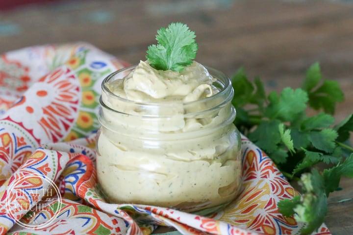 Avocado Chipotle Crema {Paleo, Keto & Low-Carb}