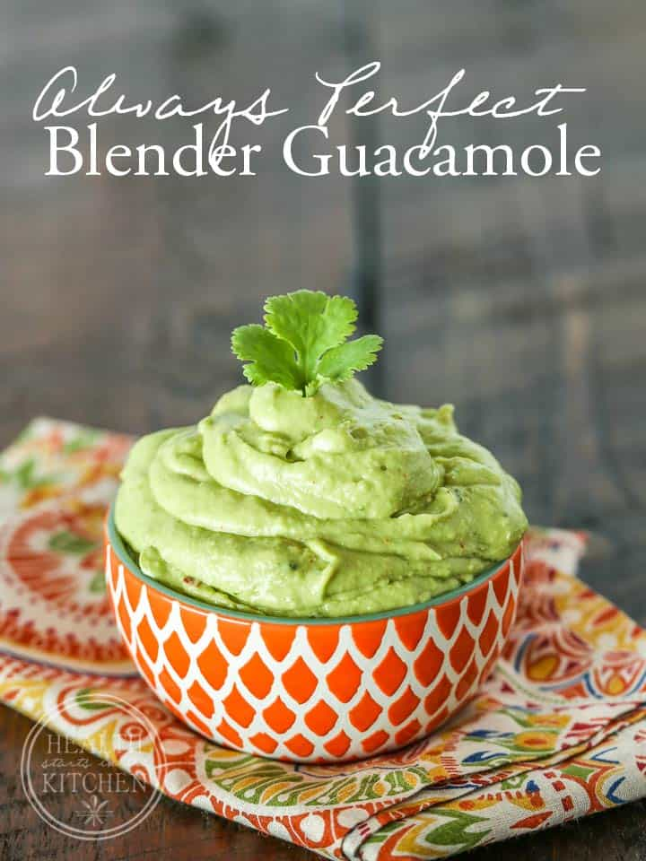 Always Perfect Blender Guacamole