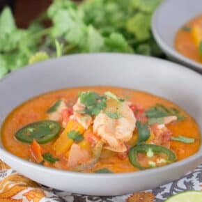 Spicy Brazilian Fish Stew {Paleo, Low-Carb & Keto}