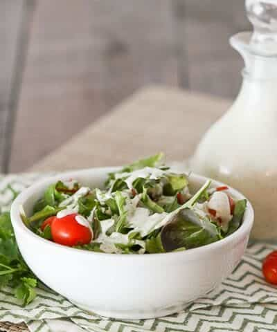 Paleo-Keto Ranch Dressing {Diary-Free & Low-Carb}