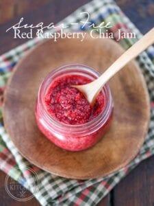 Low-Carb Raspberry Chia Jam Recipe