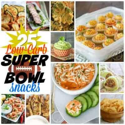 25+ Low-Carb Super Bowl Snacks