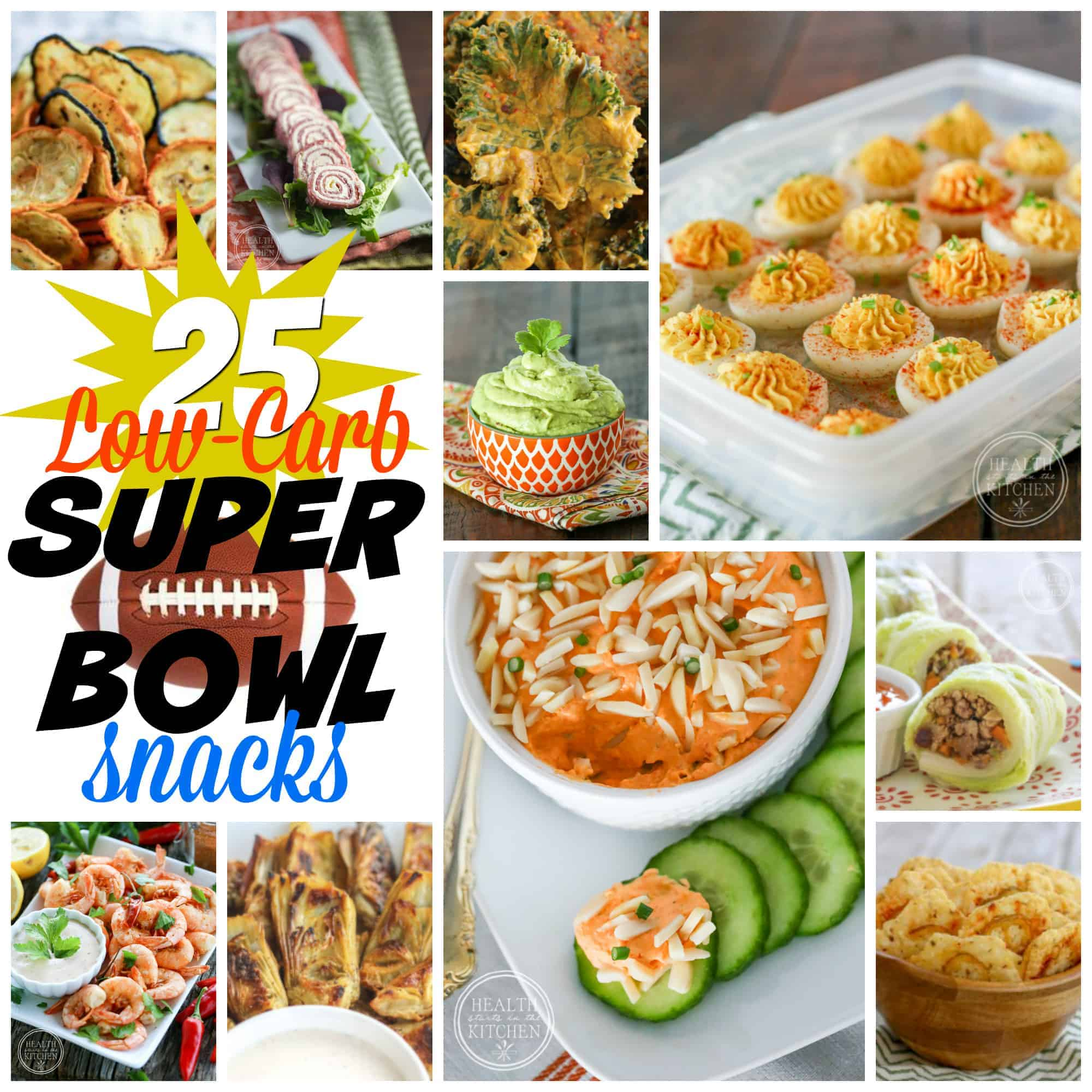 25+ Low-Carb Super Bowl Snacks