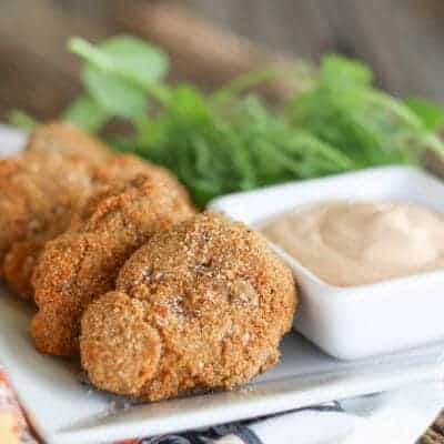 Chicken Liver Nuggets with Southwest Ranch {Primal & Gluten-Free}