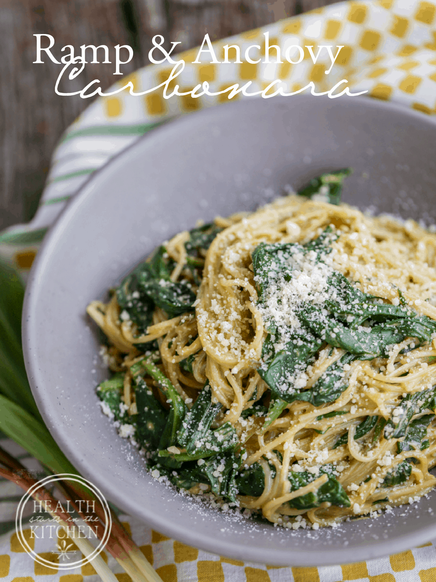 Ramp Carbonara Recipe — Dishmaps