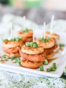 Chicken Waffle Sliders {Gluten-Free}