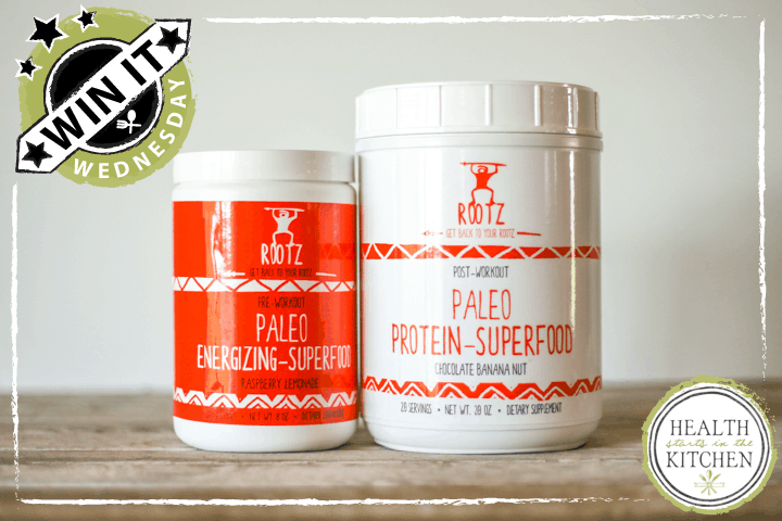 Win it Wednesday: Rootz Paleo Superfood