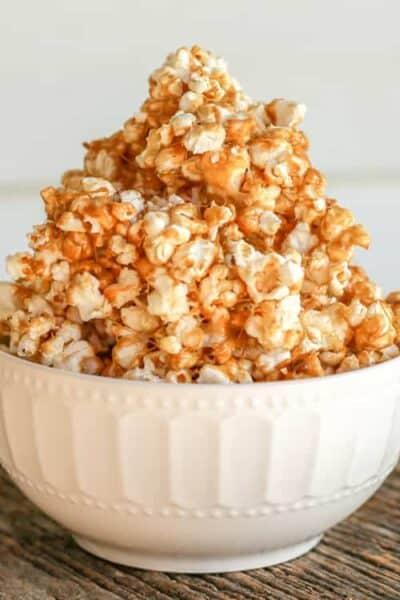 Marshmallow Salted Caramel Popcorn