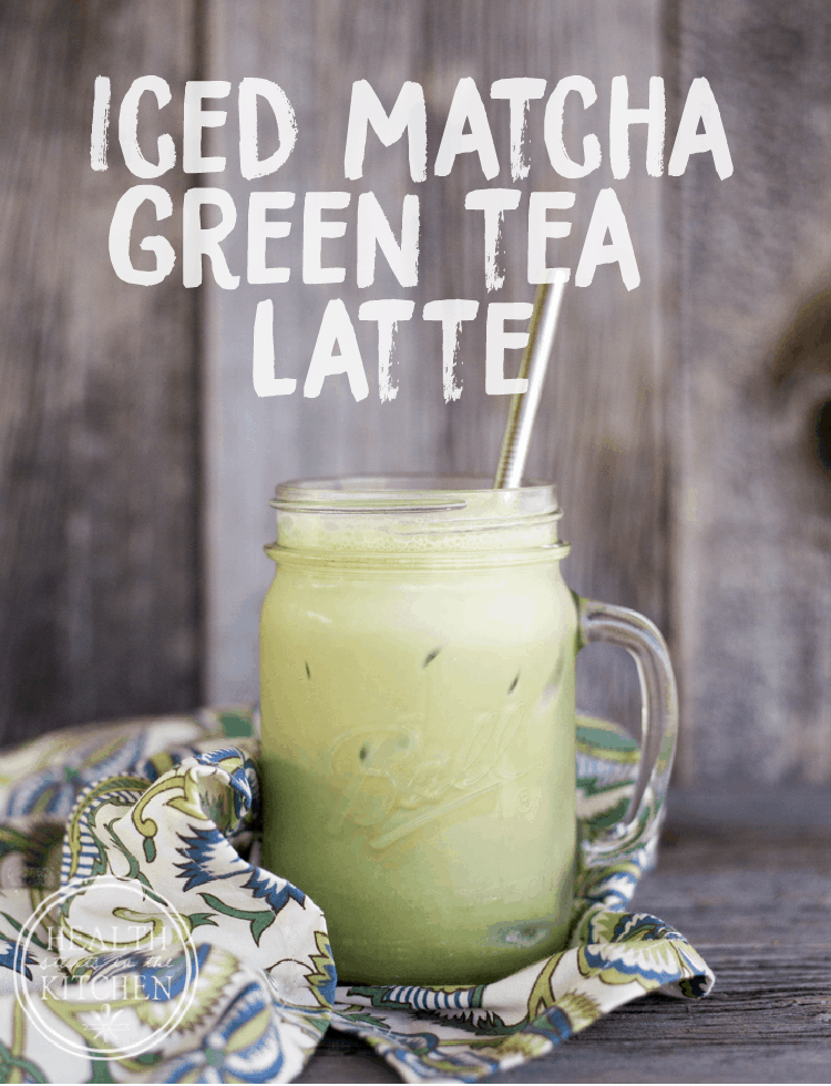 Protein Packed Iced Matcha Green Tea Latte Health