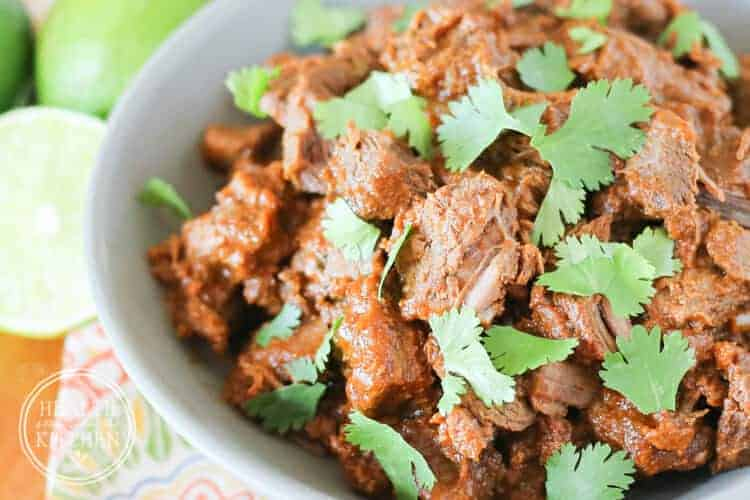 Carne Estofada {Mexican Braised Beef} for the Oven, Pressure Cooker or Slow Cooker Istru