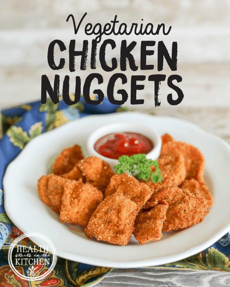 Vegetarian Chicken Nuggets (using Chicken of the Woods Mushrooms)