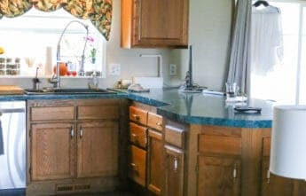 My Holiday $500 Kitchen Makeover: BEFORE