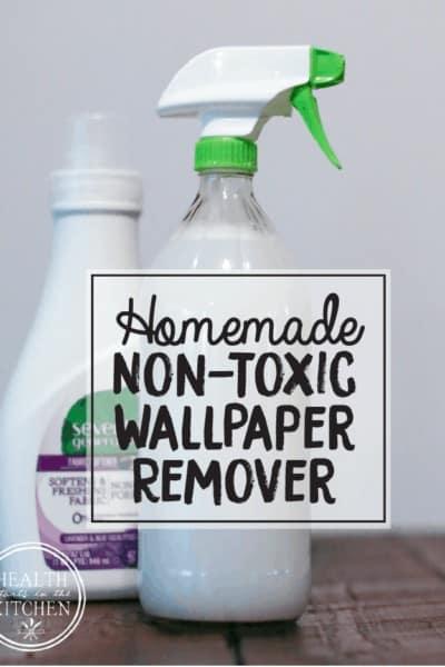 Homemade Non-Toxic Wallpaper Remover Spray