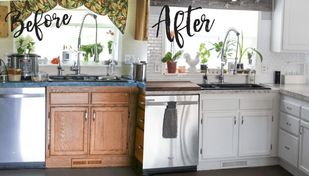 Holiday Kitchen Makeover ($500 Budget) AFTER