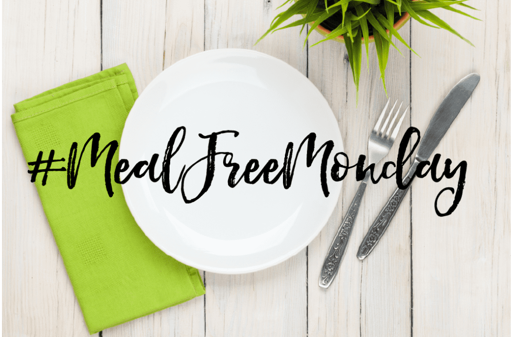 All the cool kids are doing it. Loosing weight, getting healthier every Monday. #MealFreeMonday