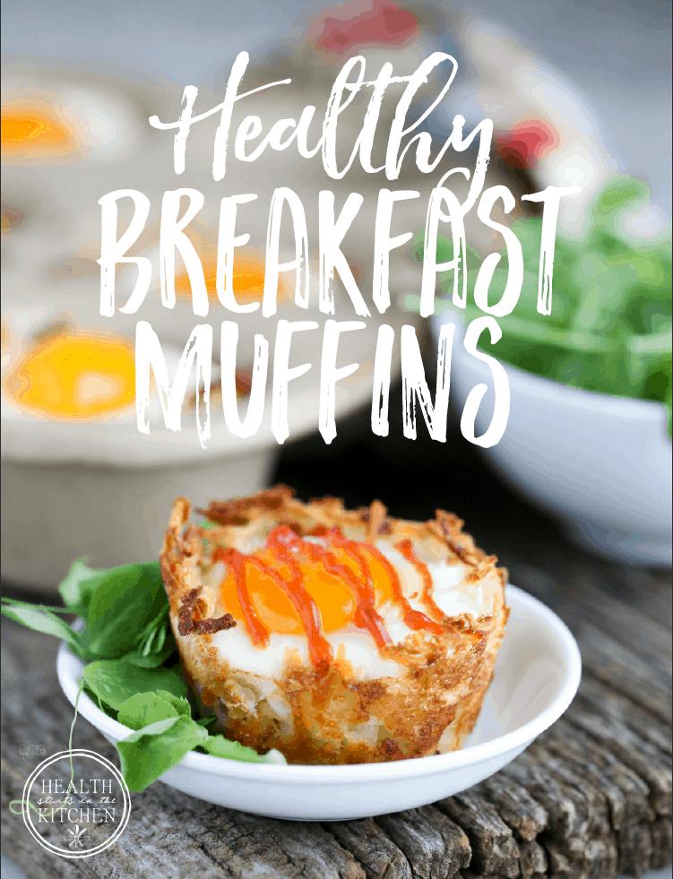 Healthy Gluten Free Breakfast Muffins