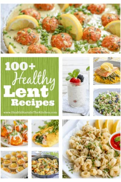 100+ Healthy Lent Recipes {Gluten-Free, Paleo, Primal, Low-Carb, Real-Food & Vegetarian}