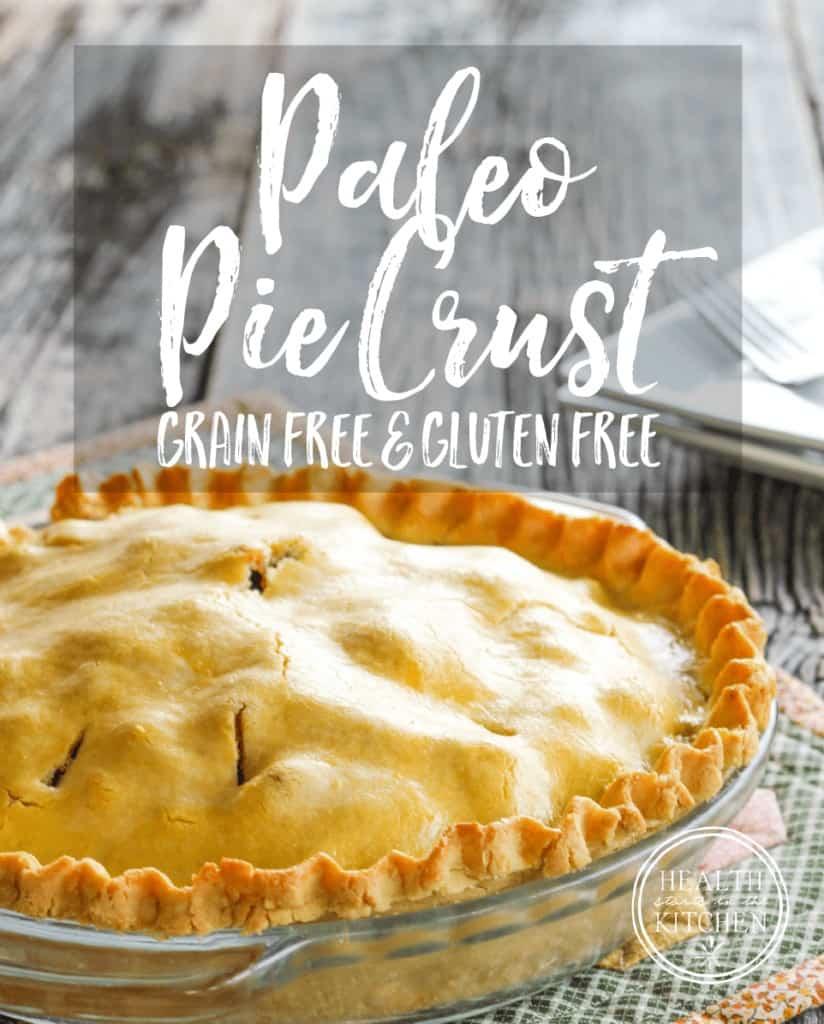 Paleo Pie Crust {Gluten-Free & Grain-Free}
