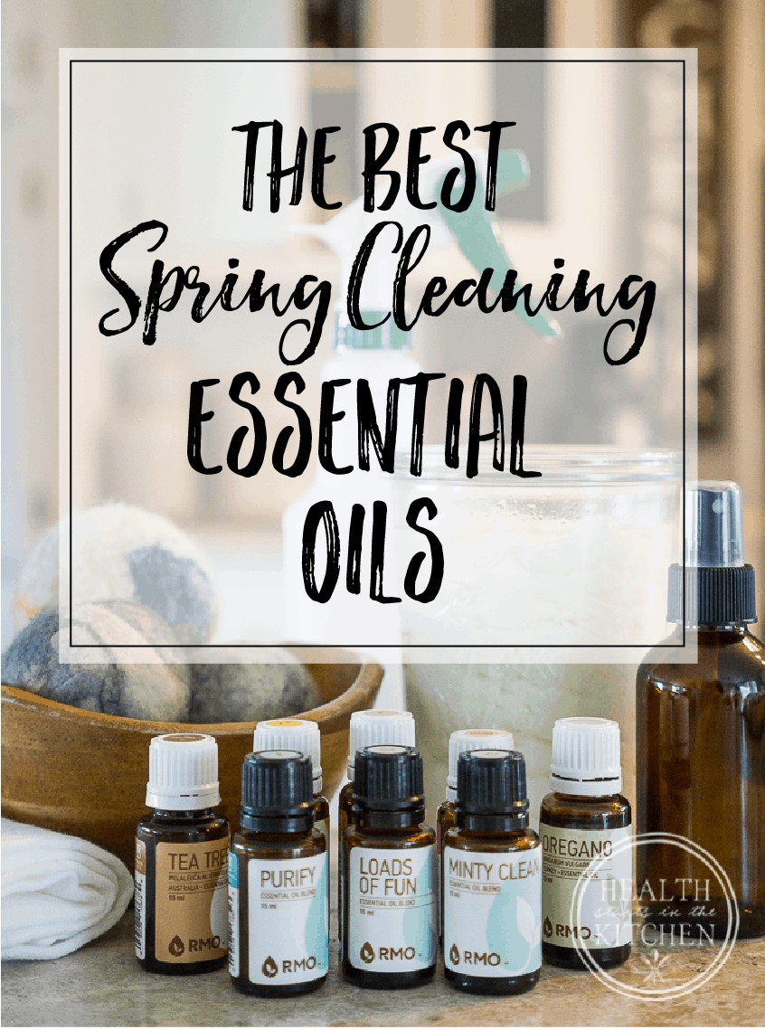 The BEST Essential Oils for Spring Cleaning - Take the guess work out of choosing the right EO for the job & save 20%
