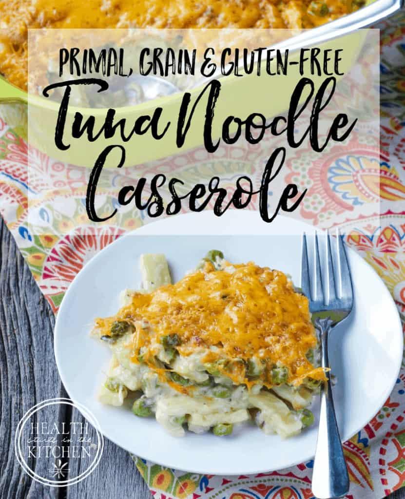 Grain-Free Tuna Noodle Casserole