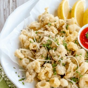 Paleo Fried Calamari {Grain-Free & Gluten-Free}