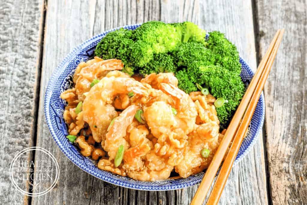 Paleo Honey Walnut Shrimp {Grain-Free, Gluten-Free & Dairy-Free}